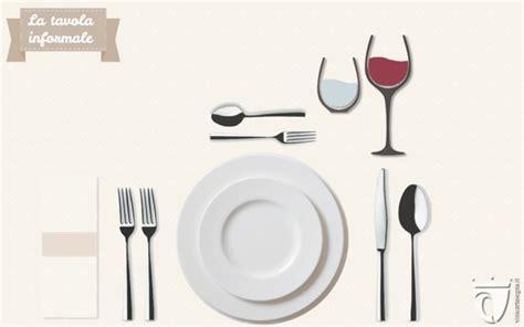 posizione dei bicchieri a tavola come apparecchiare la tavola mise en place formale e non