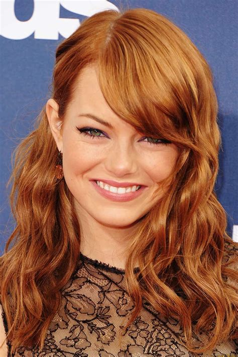 2016 emma stone hair color trends diy consigue en casa el color de pelo strawberry blonde