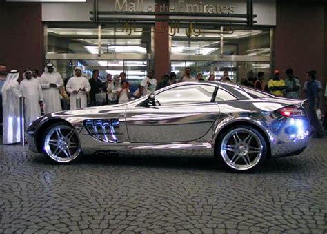 Mercedes Chrome by Chrome Mercedes Mclaren Slr Pics Carzi