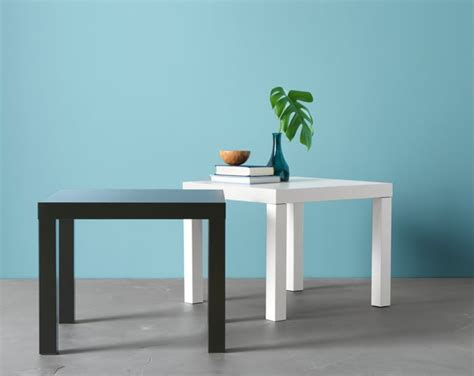White Side Tables For Living Room - lack series ikea