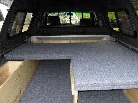 truck bed platform truck bed sleeping platform van pinterest trucks