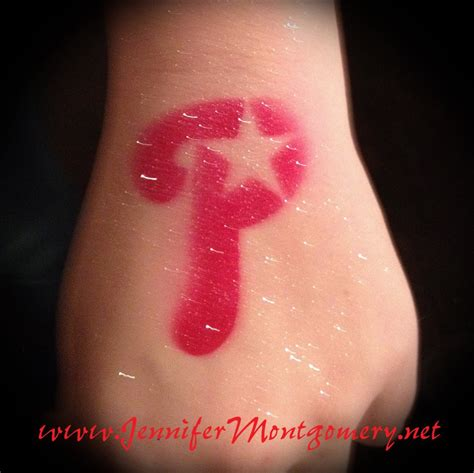 phillies tattoo philadelphia phillies airbrush 1st birthday