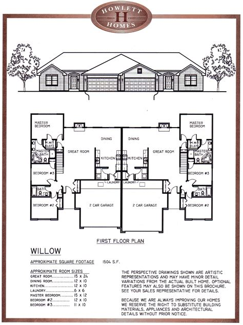 Condos Floor Plans by The Villas Of Twin Oaks