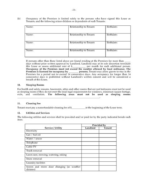 fixed term tenancy agreement template michigan fixed term lease agreement forms and
