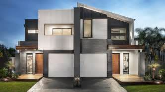 Duplex Designs Dual Occupancy Makes Most Of Sydney Blocks 2 Storey House Plans Small Blocks