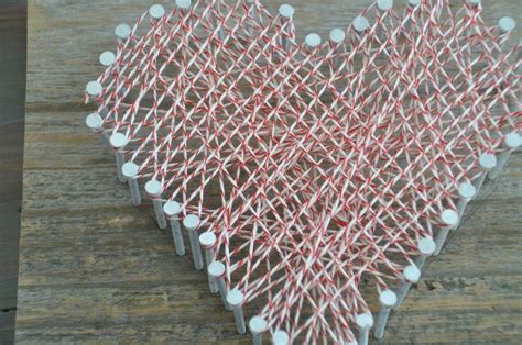 String Decoration by Diy String Craft Decor And The