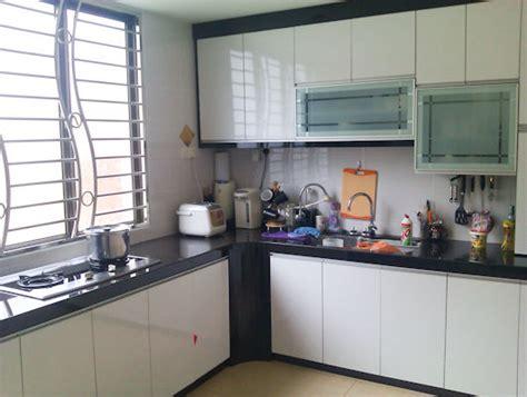 home kitchen design malaysia taman daya double storey corner refurbished and modern