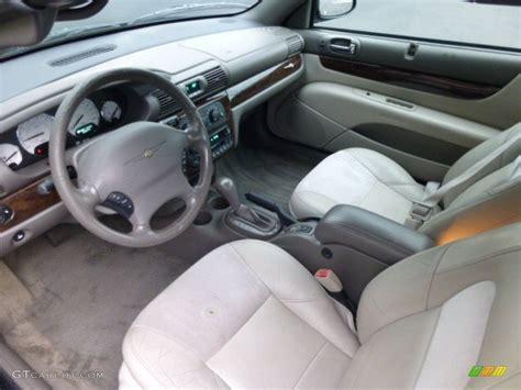 2004 chrysler sebring limited convertible interior color
