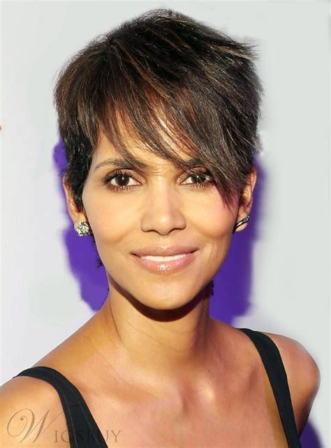 halle berry short pixie wig 17 best images about short wigs on pinterest 100 human