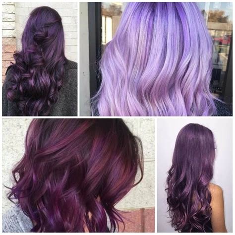 plum black hair color sweet plum hair colors for 2018 best hair color ideas