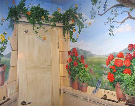 Garden Murals 2017 Grasscloth Wallpaper In The Garden Wall Mural