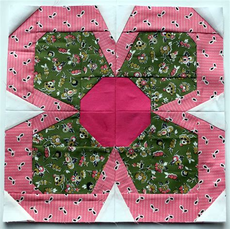 Flower Quilt Block by Zakka Flower 2