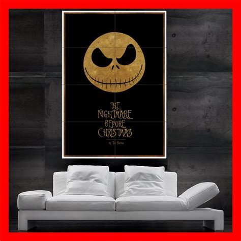 nightmare before wall decor the nightmare before print wall by