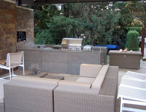 Outdoor Kitchen Concrete Countertop by Outdoor Kitchen Concrete Countertops Contemporary