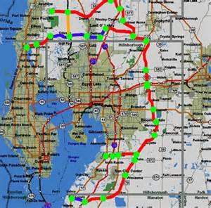 florida sunpass toll map florida toll roads map
