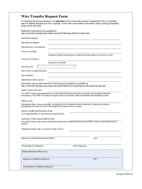 transfer template wire transfer form 2 free templates in pdf word excel