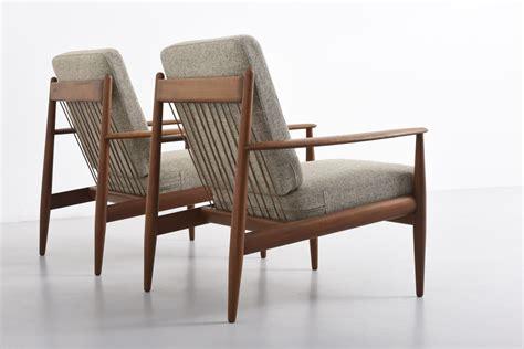 Mid Century Teak Sideboard Grete Jalk Lounge Chairs France Amp Daverkosen