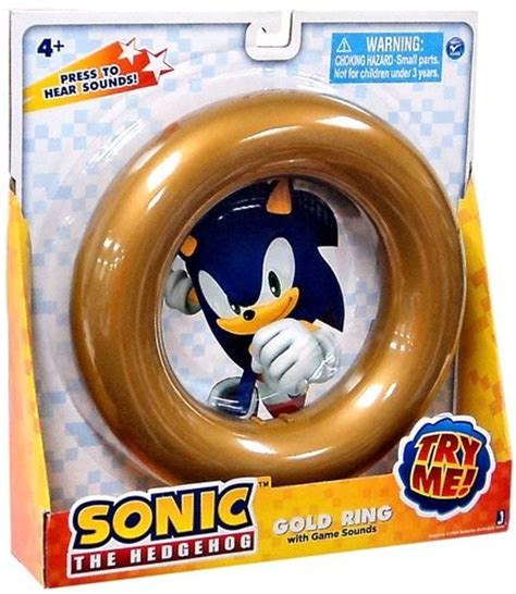 sonic the hedgehog gold ring with sounds only 8 88