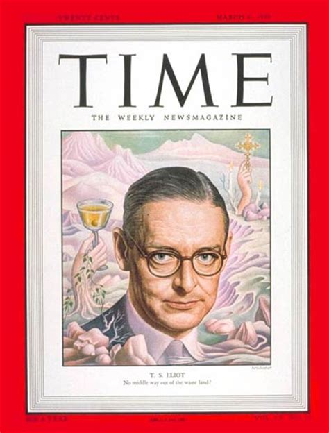 magazine archive time magazine cover t s eliot mar 6 1950 writers