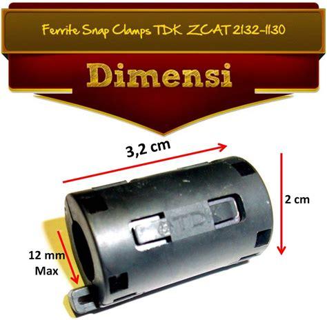 Ferrite Ferit Magnet Tdk Zcat 2132 1130 Diameter 11mm Berkualitas jual ferit untuk penghemat bbm penambah tenaga