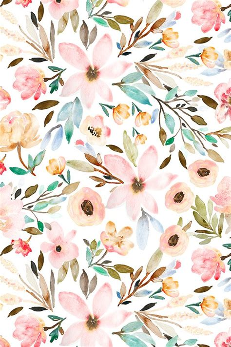 pretty painted floors with flower designs pictures floral watercolors drawing art gallery