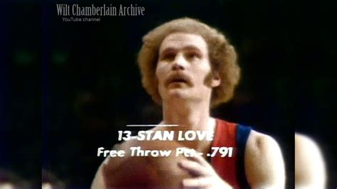 stan love basketball wikipedia the free encyclopedia stan love knicks at bullets 3 4 1973 full highlights