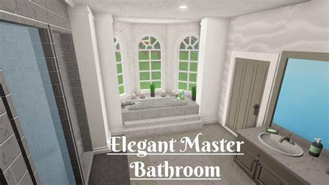 robloxbloxburg elegant master bathroom youtube