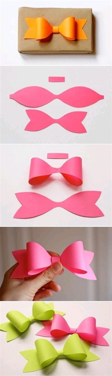 How To Make Handmade Hair Bows - photo tutorial how to make a paper bow great idea for