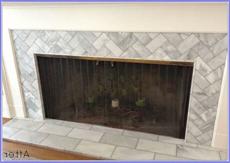 subway tile fireplace 25 best ideas about subway tile fireplace on
