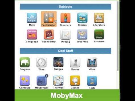 edmodo mobymax moby max tutorial 1 youtube