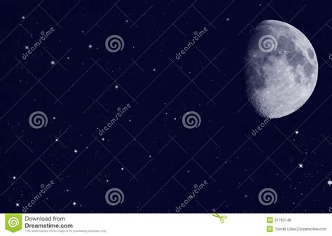 with moon royalty free stock photos image 21763748