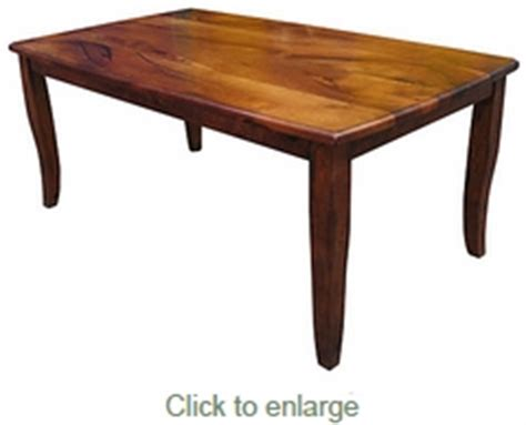 Table San Rafael by San Rafael Mesquite Curved Leg Dining Table 72 Inch
