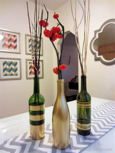 divine wine bottle centerpiece ideas   impress