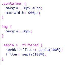 cara membuat web filtering cara membuat efek filter sephia pada css kursus web design