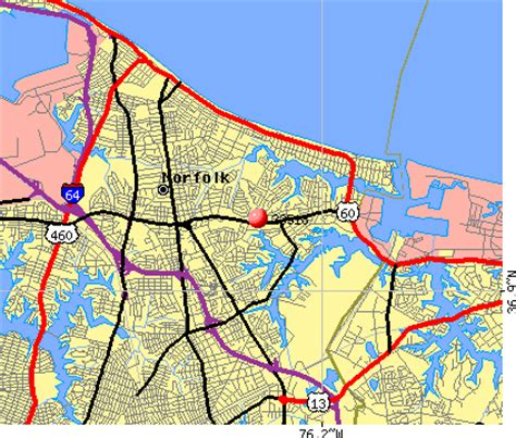 zip code map norfolk va 23518 zip code norfolk virginia profile homes