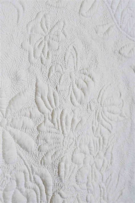 White On White Quilts by Quilts Out Of Whole Cloth The And Quilts Of