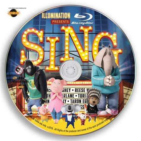Dvd Sing sing 2016 label cover disc p o w a f u l i m p a k