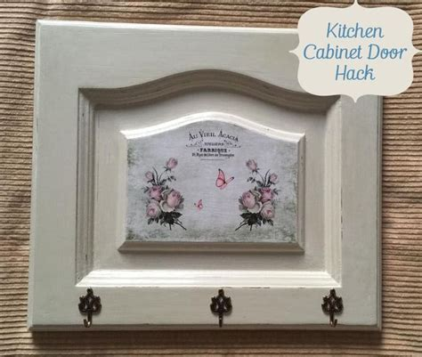 Decoupage Kitchen Cabinet Doors - kitchen cabinet door makeover hometalk