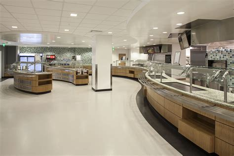 food court design standards sustainable cafeteria sets new standards at los angeles