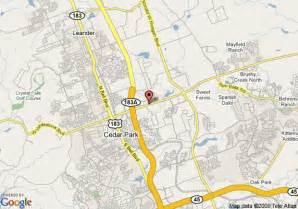 map of inn express hotel suites cedar park nw