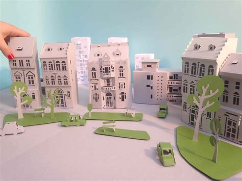 How To Make A Paper City - a paper city to tell about energy efficiency osocio