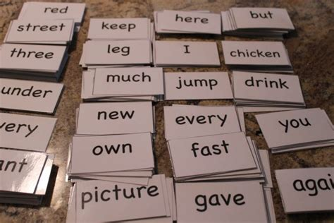 printable flashcards for reading free sight words flash cards happy and blessed home