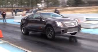 Cadillac Cts V Quarter Mile Modified Cadillac Cts V Coupe Completes 9 Second