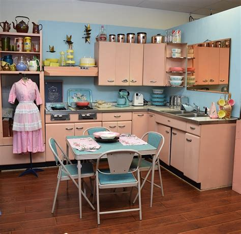 Vintage Kitchen Furniture by Amy Saves A 1957 Harrison Pink Steel Kitchen Now On