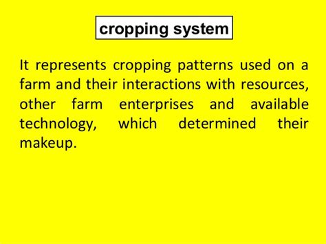 cropping pattern types intercropping mixed cropping principles and assessment of