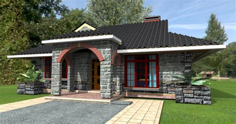 Mediterranean Kitchen Designs by Deluxe 3 Bedroom Bungalow House Plan Home Design