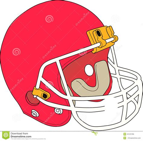 eps format adobe illustrator football helmet vector design clipart stock illustration