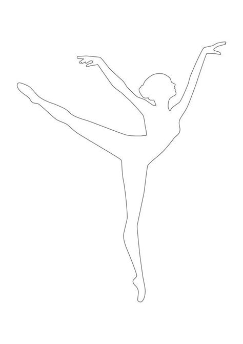Paper Ballerina Template diy snowflake ballerina ornament be healthy
