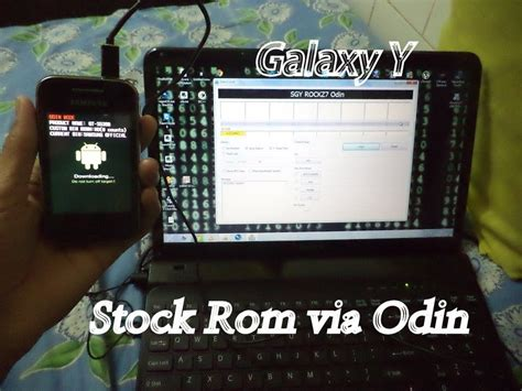 themes for stock rom galaxy y installing flashing stock rom on samsung galaxy y s5360