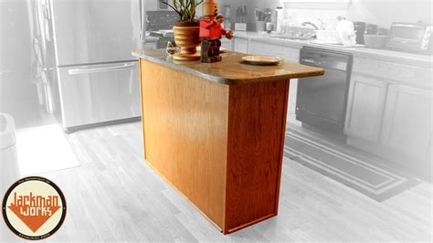 how to build a simple kitchen island simple kitchen island build